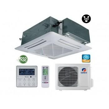 Кассетный кондиционер Gree U-Match GUD100T/A-T/GUD100W/NHA-X R32